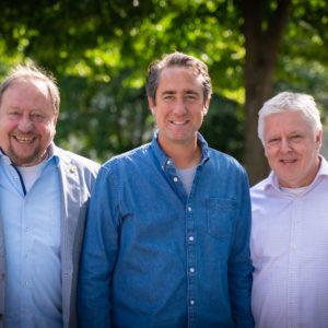Mit Josef Wirges und Andreas Kossiski.